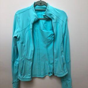 Lululemon Turquoise Zip Workout Jacket